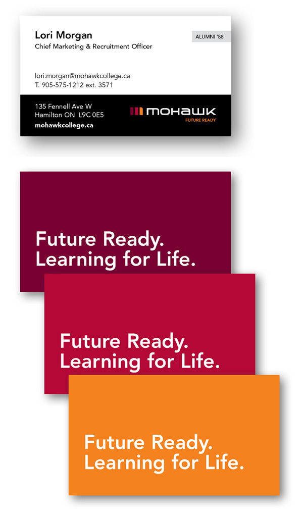 Mohawk College Business Cards – Mohawk College